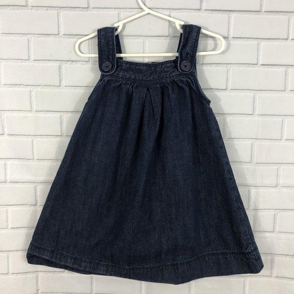 GAP Other - SOLD! GAP Baby Gap Denim Button Dress 2yr
